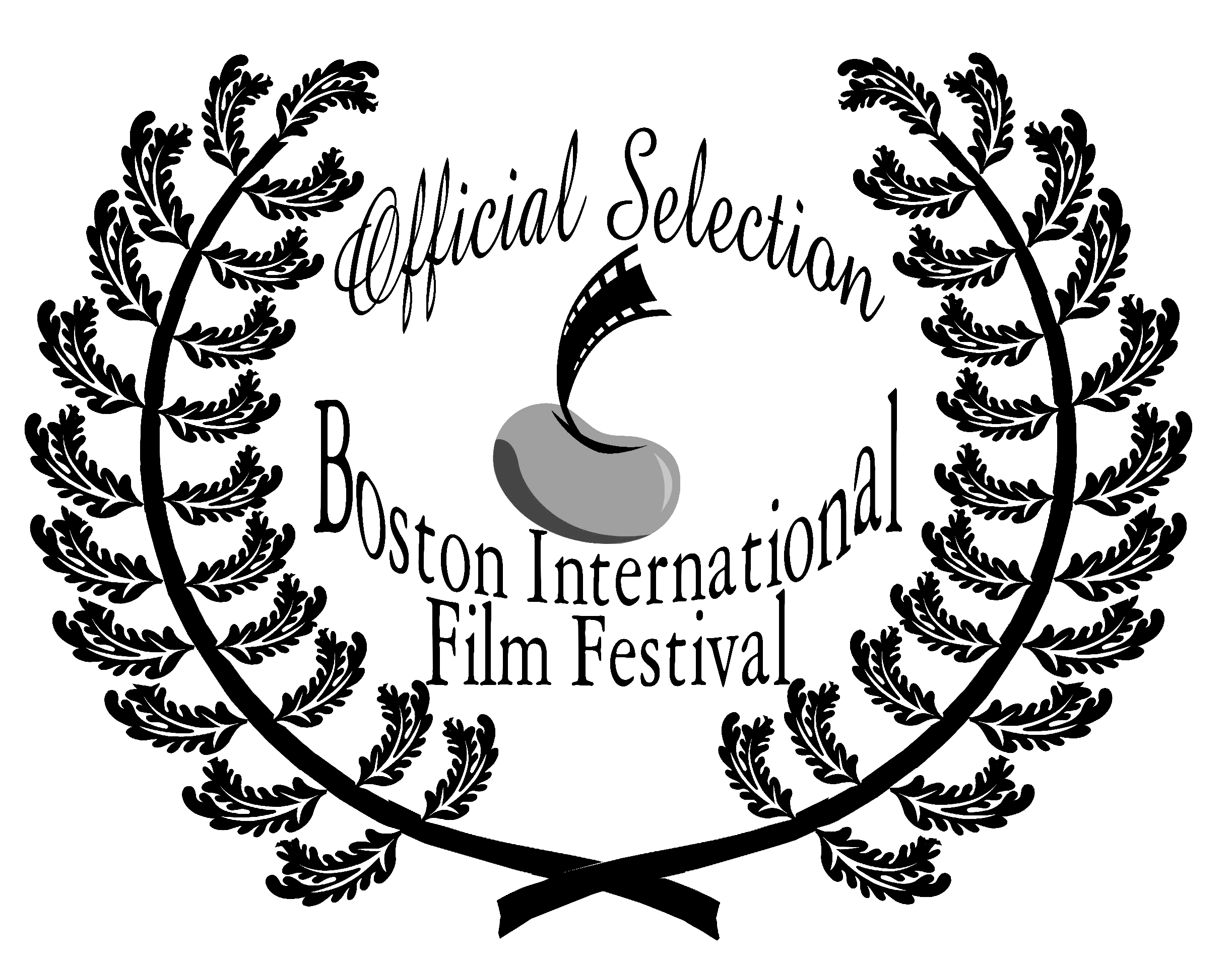 BIFF Official Selection Laurel B&W