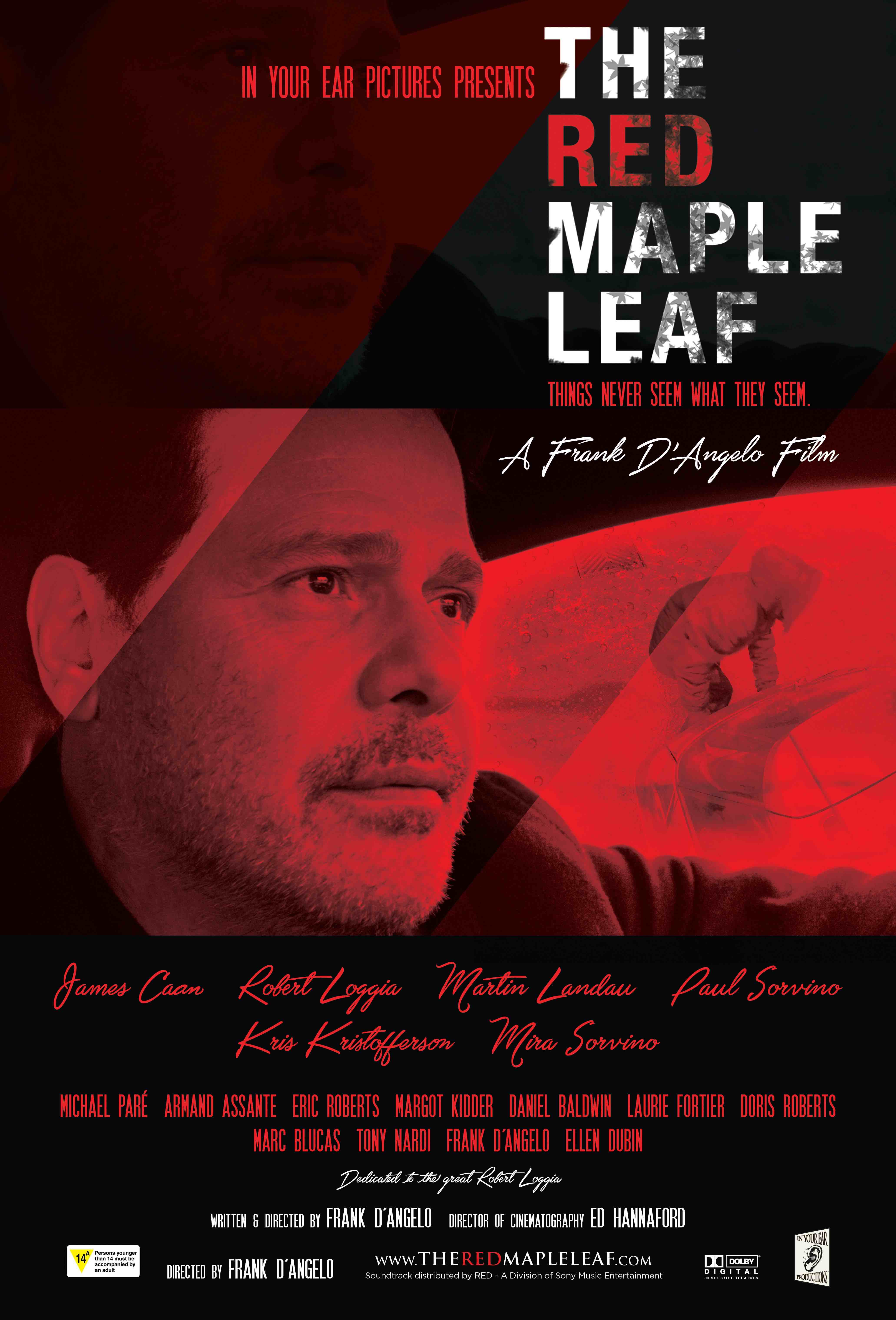 Red maple leaf small